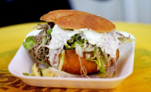 A pelona sandwich