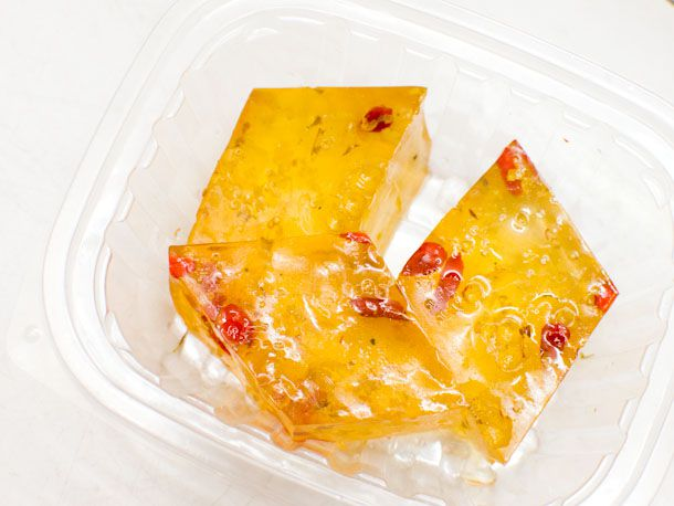 Osmanthus Jelly from Express Tea Shop