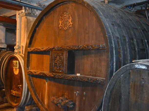 world's oldest oak wine barrel