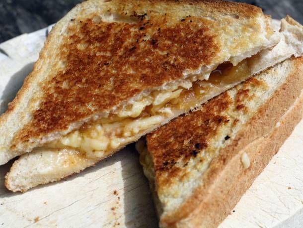 A toastie sandwich