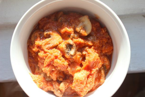 Lunch Box: Make-Ahead Mushroom Tomato Bread Soup