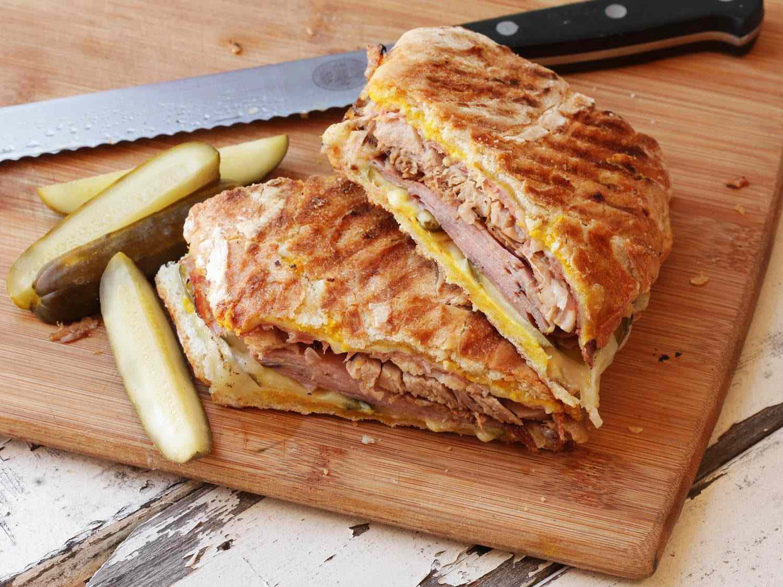 cubano roast pork sandwich