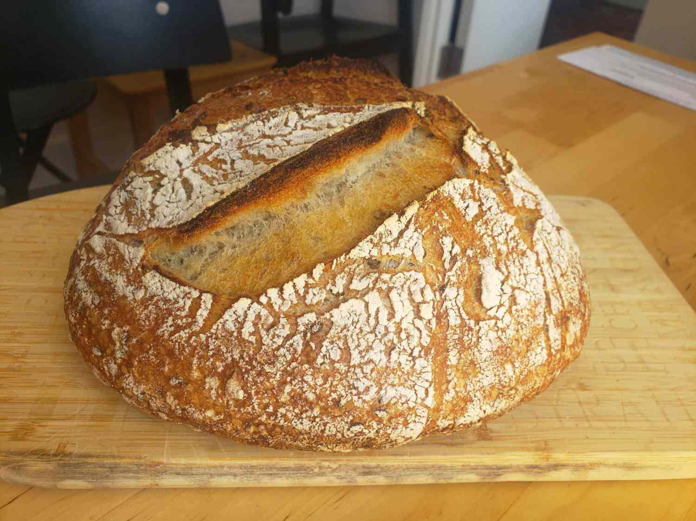 Daniel DK's beautiful bread, side view