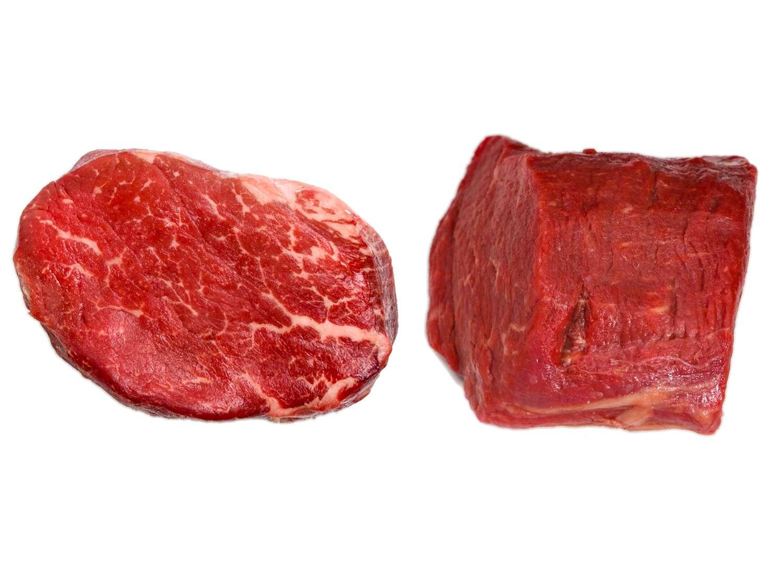 Uncooked beef tenderloin