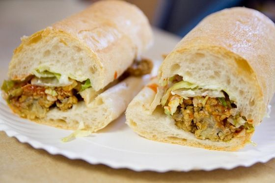 Po' Boys from Domilise's, Zimmer's Seafood, R&O, and plenty more