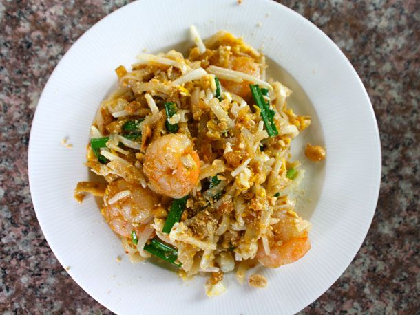 Pad Thai at Amita's Thailand Cooking Class