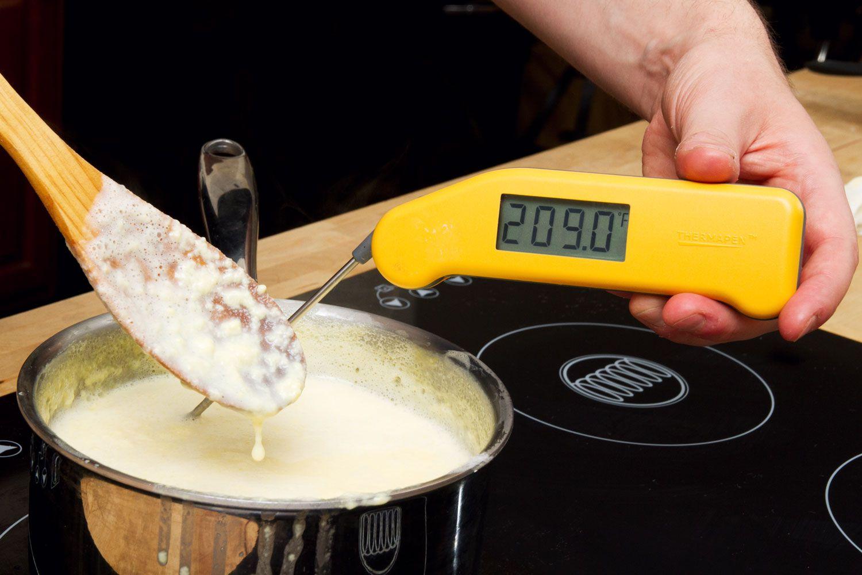 overcooked custard