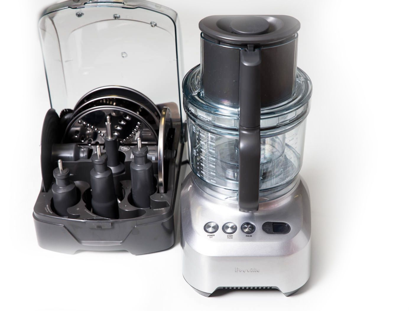Breville 16-cup food processor with accessories