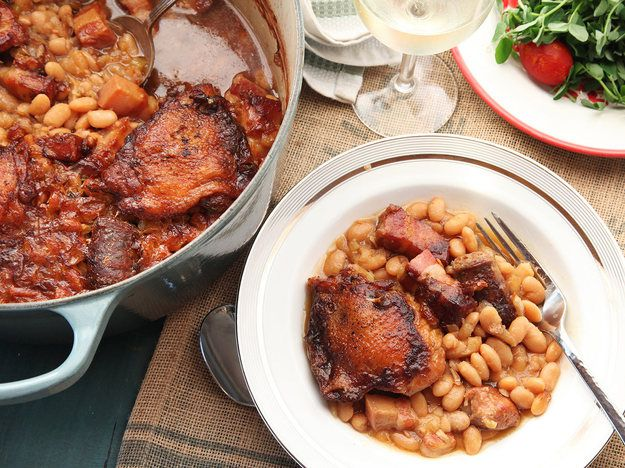 Traditional French Cassoulet
