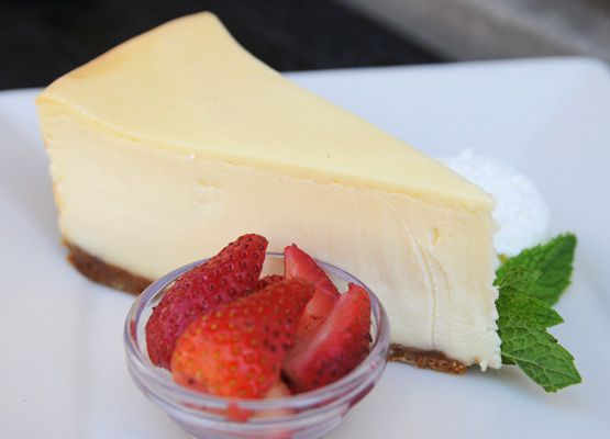 Low Carb Original Cheesecake Sweetened with Splenda