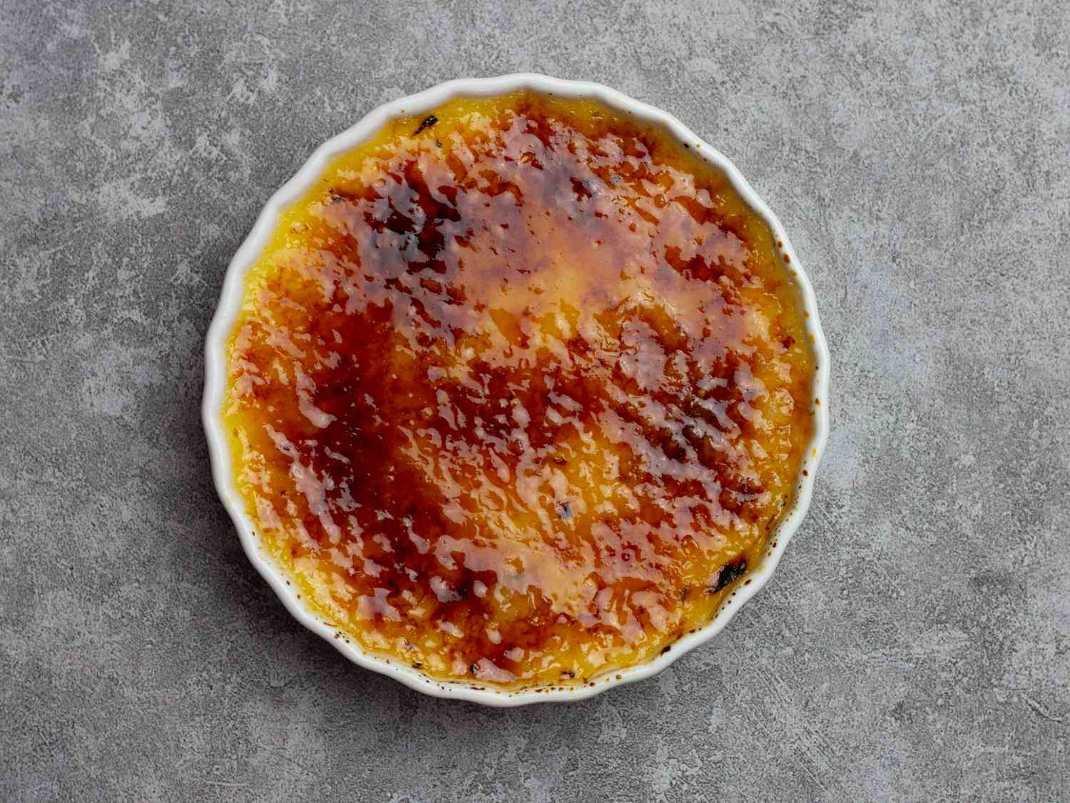 Torching a Creme Brulee
