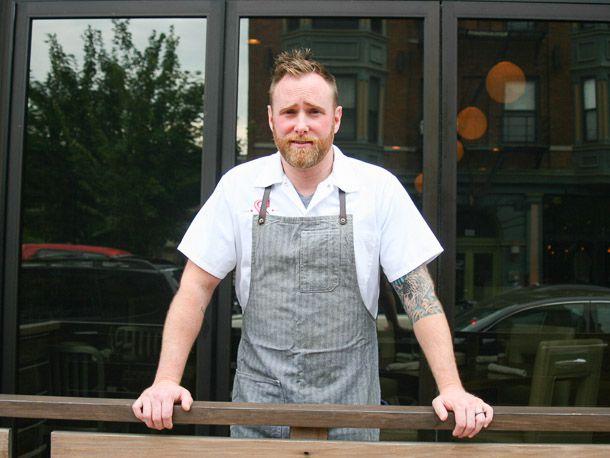 Cincinnati's Chef Dan Wright - Photo Jacqueline Raposo