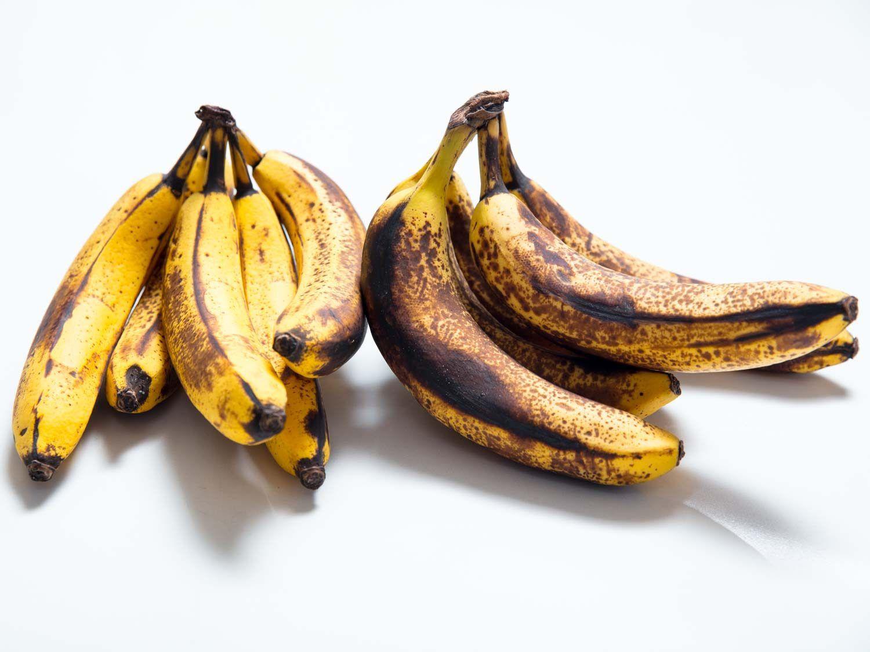 ultra ripe bananas