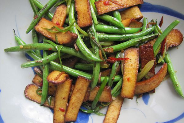 20130826-seriously asian taiwan-green beans with dry tofu-finished dish.jpg