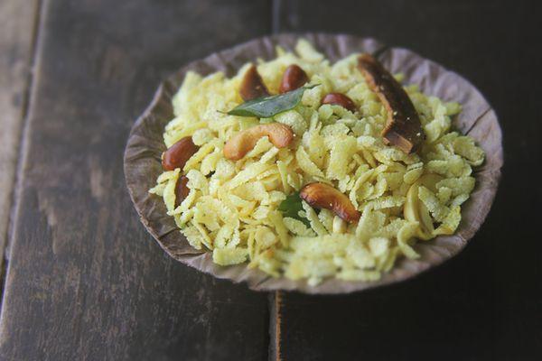 20131711- Indian Beaten Rice Flake snack- Poha Chivda.jpg