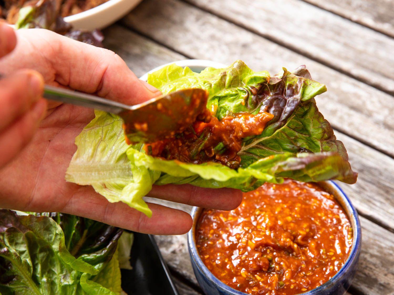 Ssamjang (Korean Barbecue Dipping Sauce) Recipe