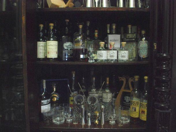 cabinet home bar