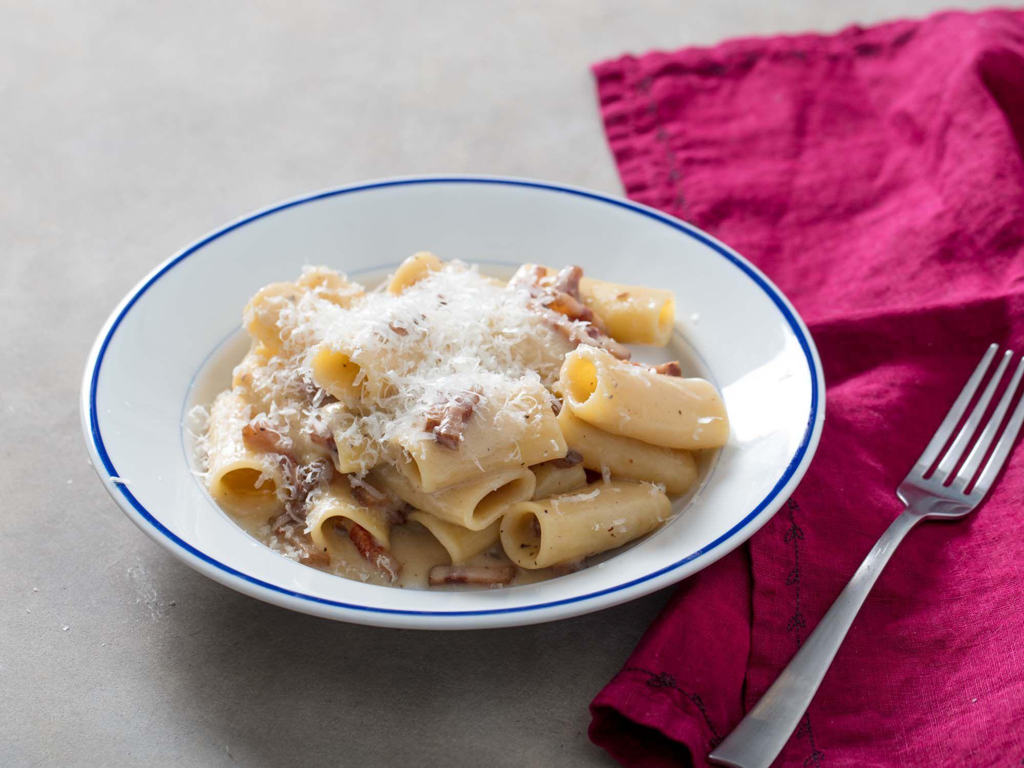 Ricetta Gricia Con Salsiccia.Pasta Alla Gricia Recipe