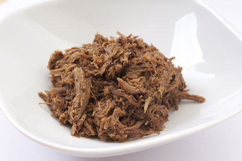 Beef barbacoa from Chipotle