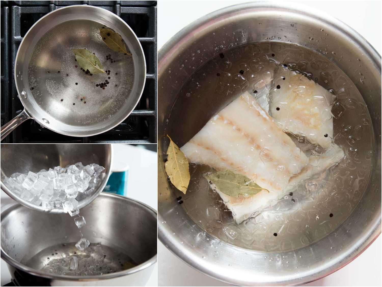 Brining fish before smoking it