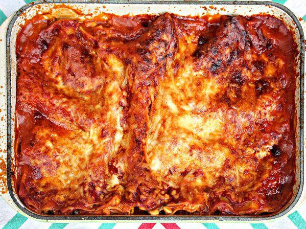 Eggplant, Gruyère and Prosciutto Lasagna
