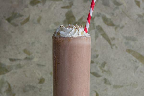 chocolate pumpkin milkshake