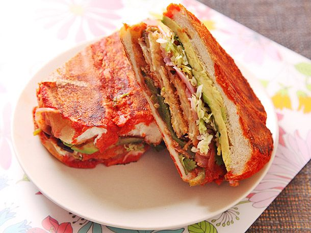 Mexican Fried Eggplant Sandwiches (the Torta and the Pambazo)