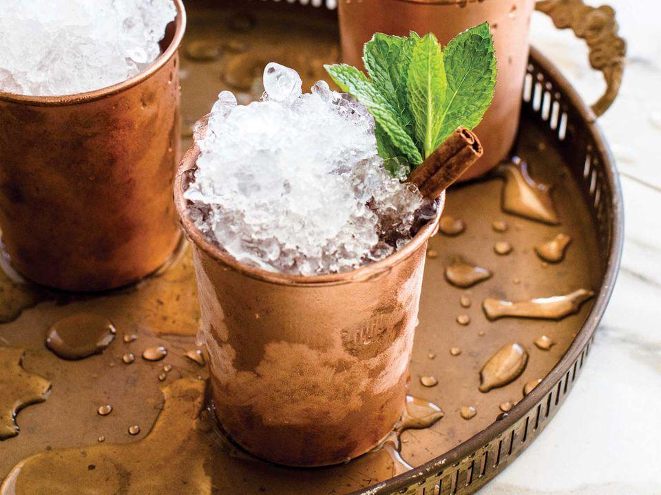 Rye-Cranberry Shrub Cocktail
