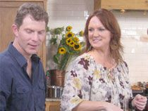 Bobby Flay and Ree Drummond, the Pioneer Woman.