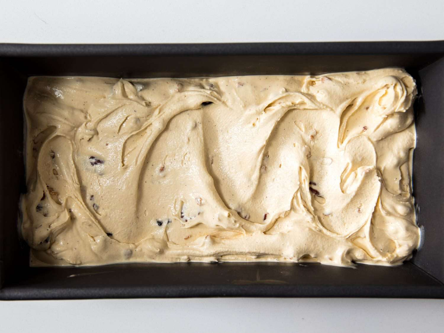 Oatmeal cookie ice cream without toppings