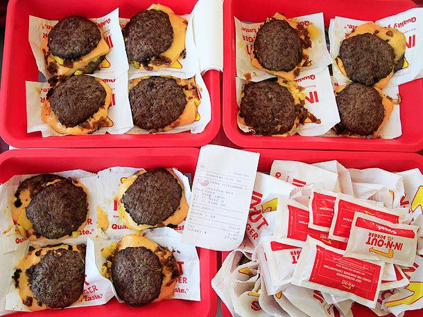 In-N-Out order