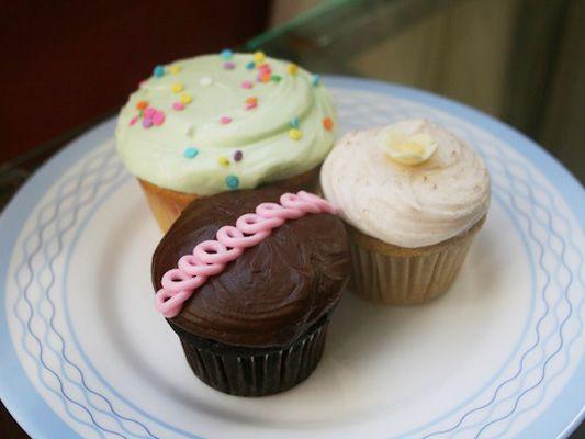 Grandma Tea Cake, Snickerdoodle, and Confetti Cupcakes