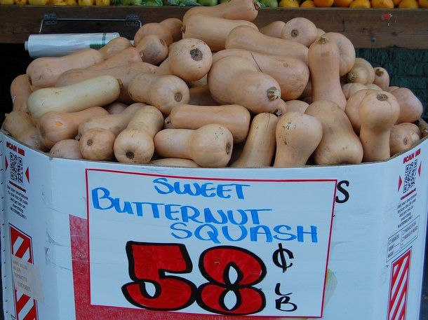 Sweet butternut squash