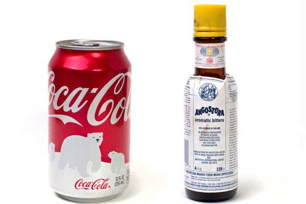Coke and Angostura