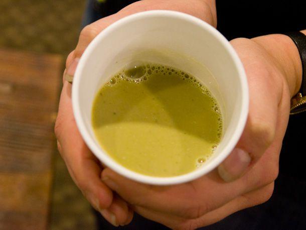 cup of pestle tea