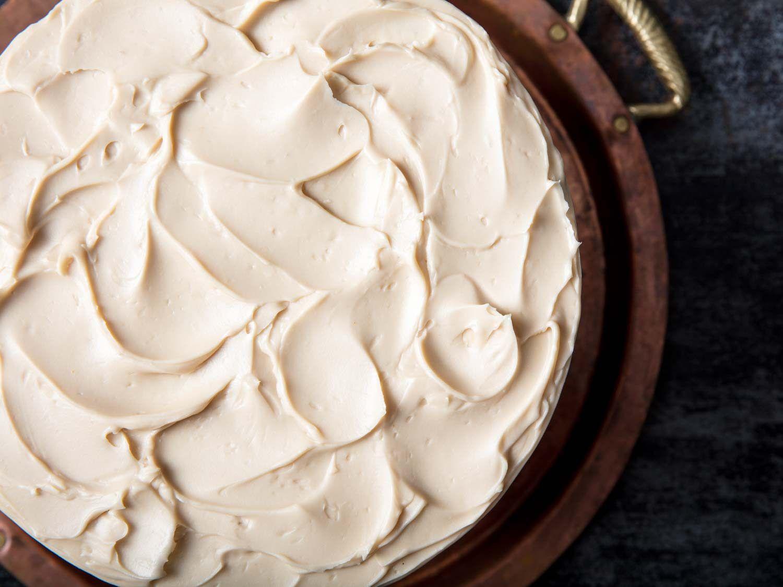 maple Italian buttercream