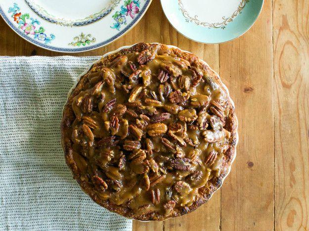 Apple-Bourbon-Caramel-Pecan Pie