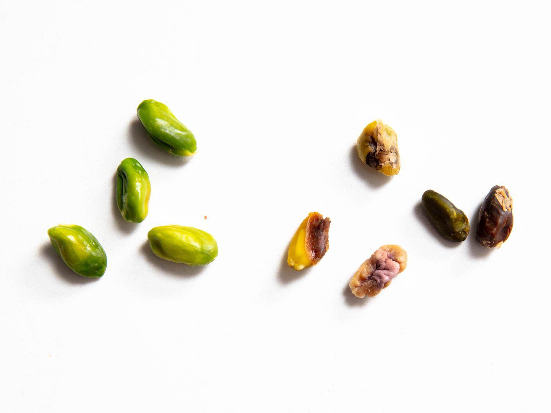 discarding bad pistachios