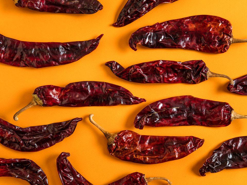 Guajillo chilies