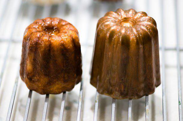 baked canelé