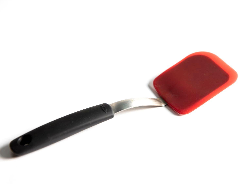 A silicon spatula