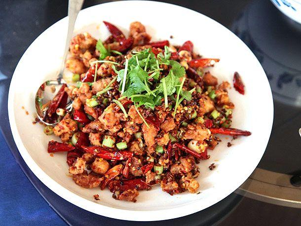 Hot Diced Chicken Szechuan Style ($11.95)