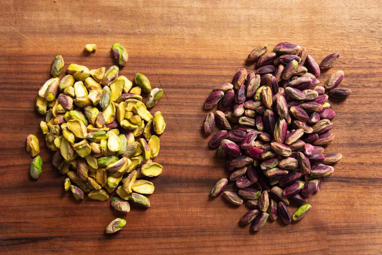 different pistachio cultivars