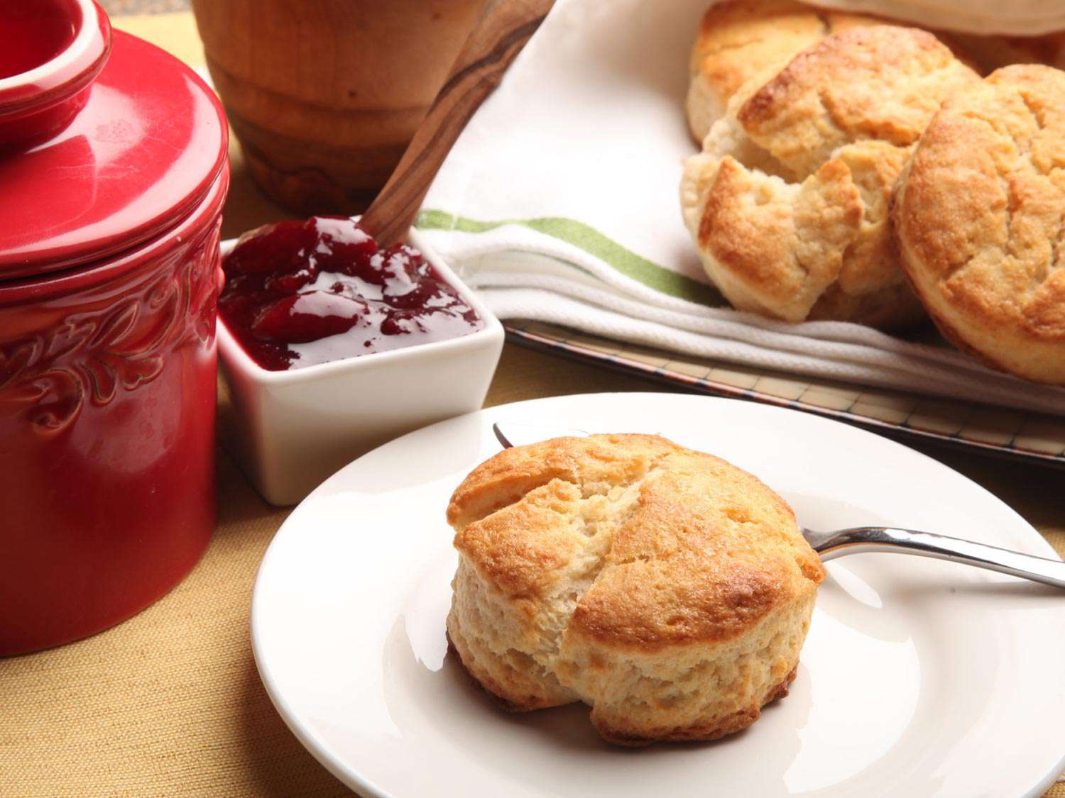 2-Ingredient Never-Fail Cream Biscuits