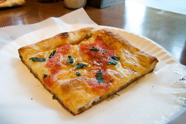 Grandma style (aka 'Nonna Pizza')