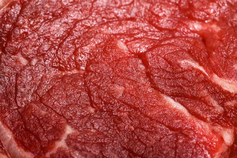 close-up shot of beef