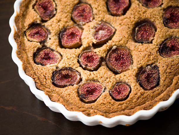Fresh Fig and Hazelnut Tart