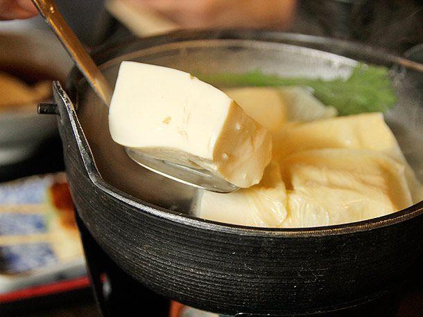 Simmered tofu