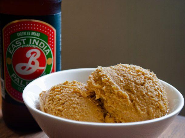 Beer Caramel Ice Cream