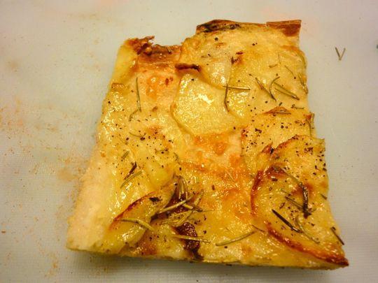 Potato Pizza from Forno Campo de' Fiori